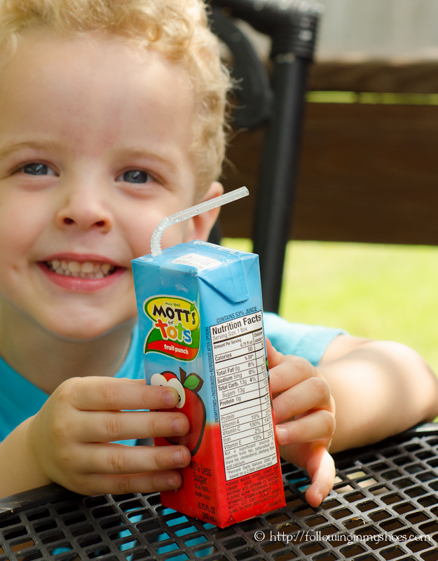 Mots for Tots Juice with 40% Less Juice
