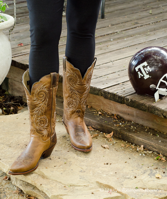 Country Outfitters Boots for Game Day