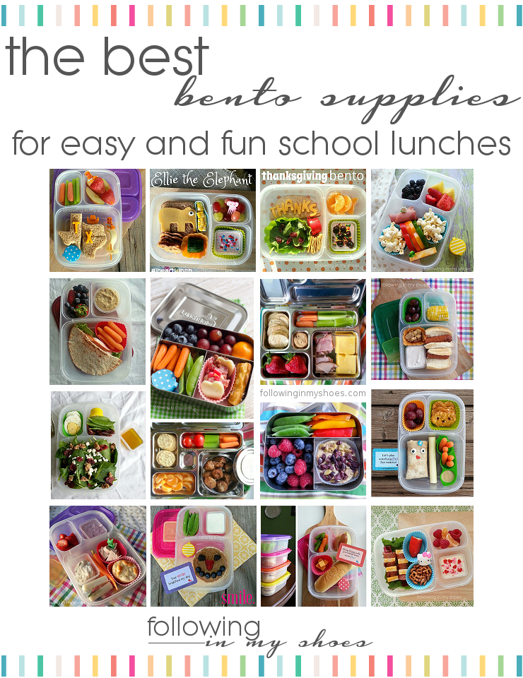 the best bento supplies for easy and fun school lunches