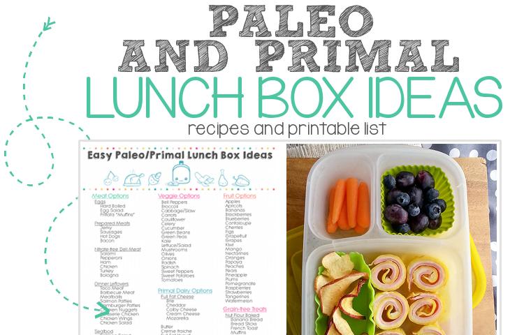 paleo primal school lunch ideas FEATURED