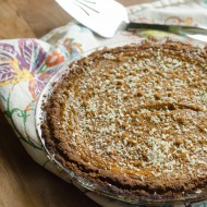 {Gluten-Free} White Chocolate Pumpkin Pie from David Venable's Back Around the Table
