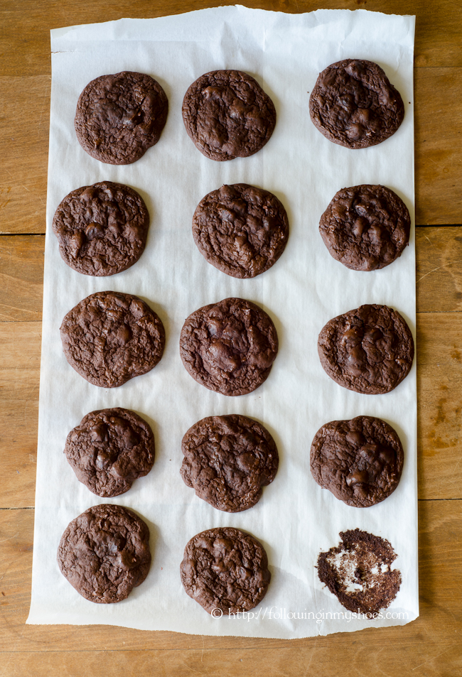 Flourless Mexican Hot Chocolate Cookies -- Paleo