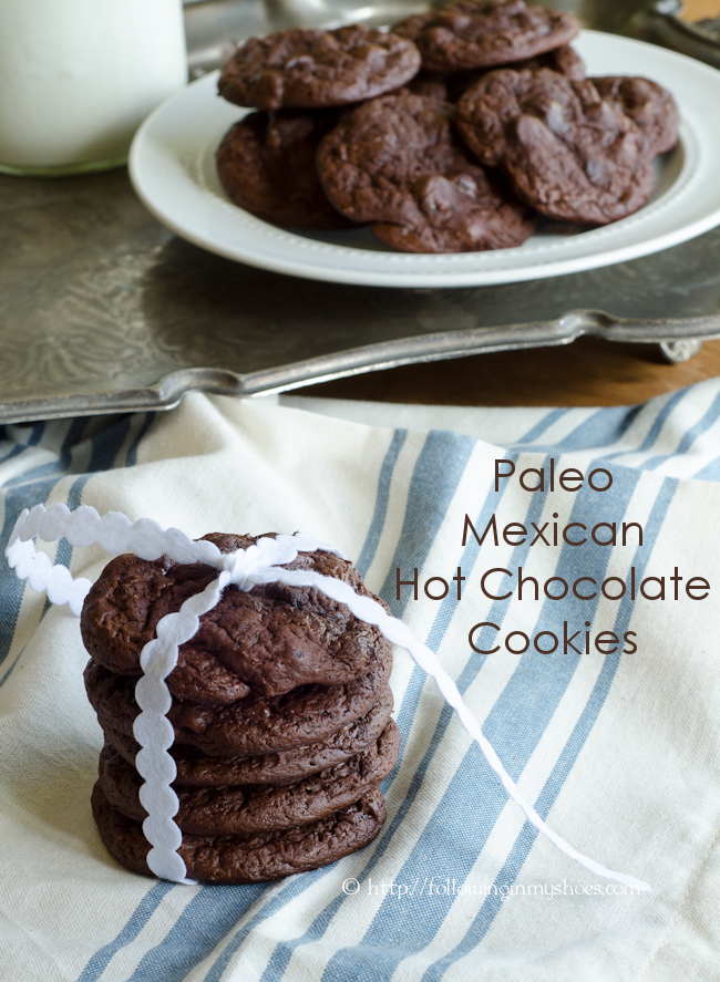 Paleo Mexican Hot Chocolate Cookies