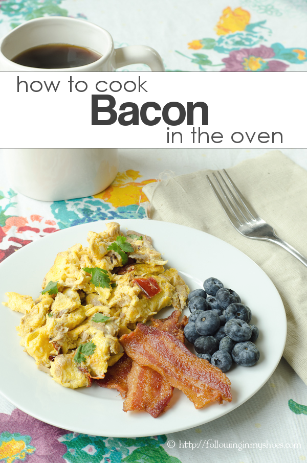 how do I cook bacon in the oven