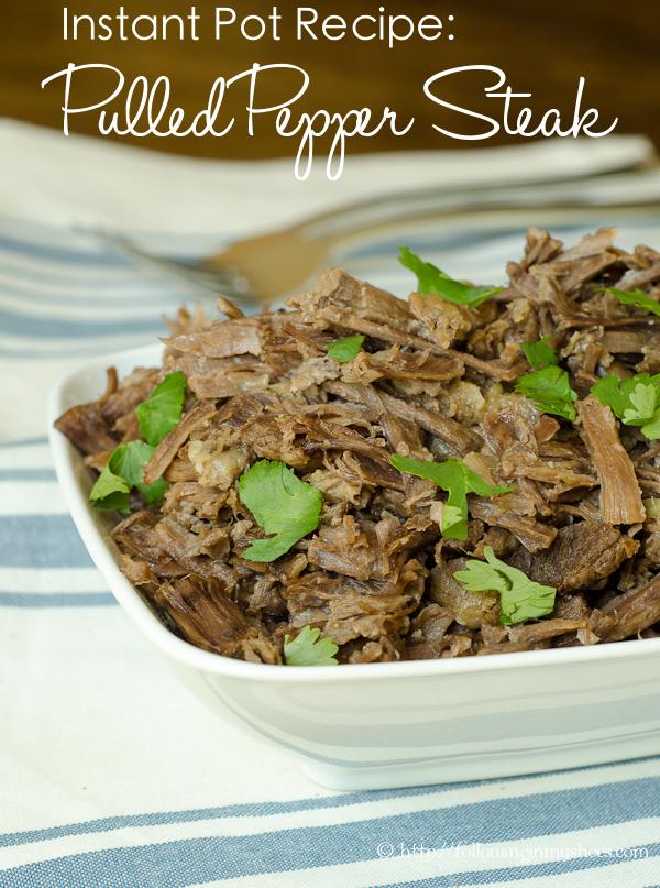instant pot recipe beef