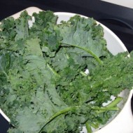 Making Kale Chips {yes, I did it}