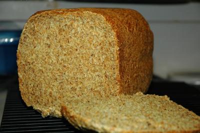 bread machine whole wheat bread