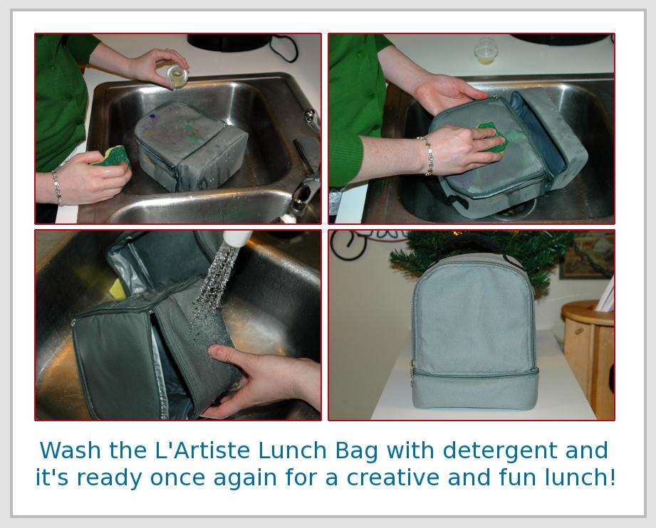 Bright Bin L'Artiste Washable Bag