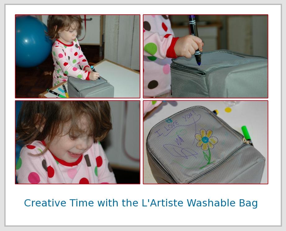 Bright Bin L'Artiste Washable Insulated Bag