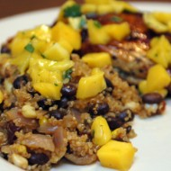 Chipotle Quinoa with Corn and Black Beans
