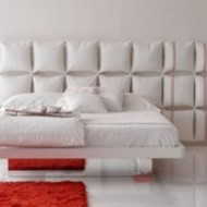 Upholstered Headboards, Glass Beds and Shag Carpet. Oh, my!