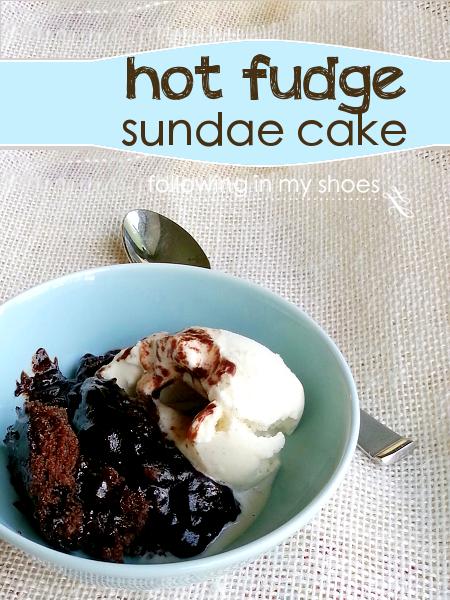 Get your chocolate fix with this Hot Fudge Sundae Cake recipe