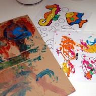 Bad Art Project, Ocean Still-Life, and Hobo Art