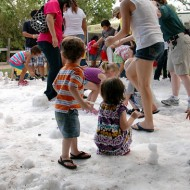 Snow Comes To Houston in JULY!