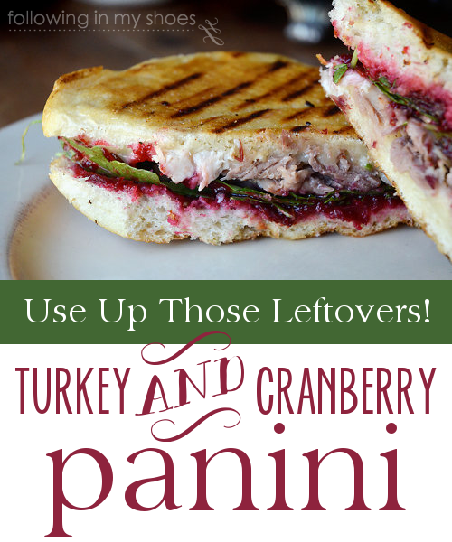 Thanksgiving Leftovers Solution: Turkey and Cranberry Panini