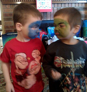 face paint monsters