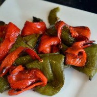 How to Roast Bell Peppers