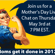 """Ebates """"Mother's Day Live Chat"""" – Savvy Living May 3rd, 6pm CST"""