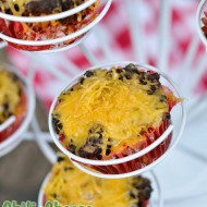Kidlet Dinner Food: Chili Cheese Corn Dog Muffins