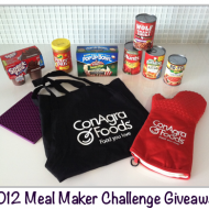 Meal Maker Challenge GIVEAWAY – 3 Winners!