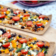 A Movie Night, a New Family Tradition, and Chicken & Black Bean Taco Pizza.  Yum.