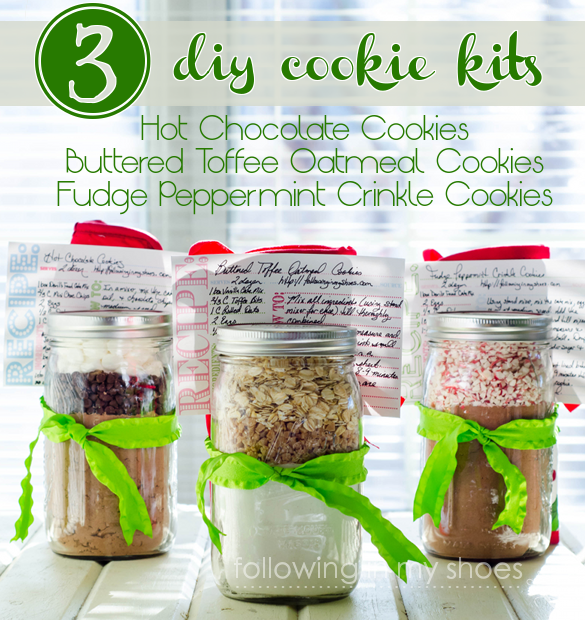 DIY Cookie Mix Gifts in Jars