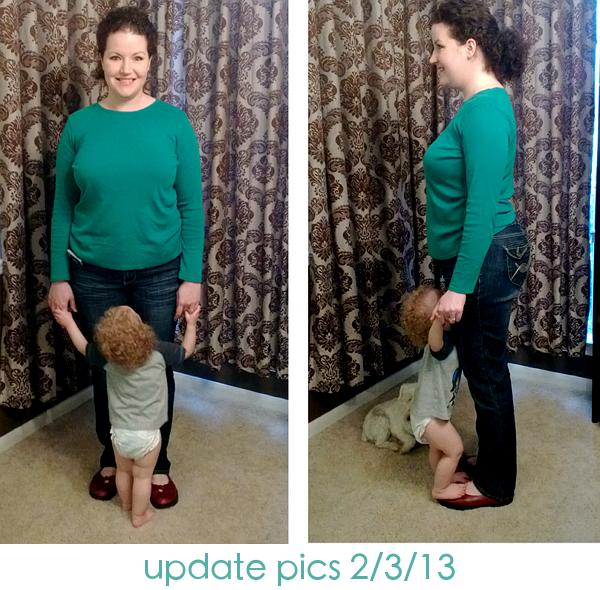 #iheartOmron Fitness Challenge February Update Pics