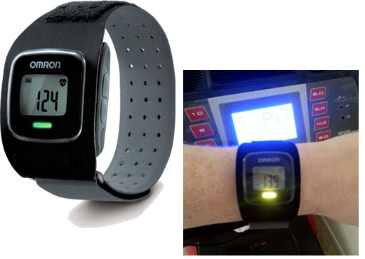 omron strapless heart monitor