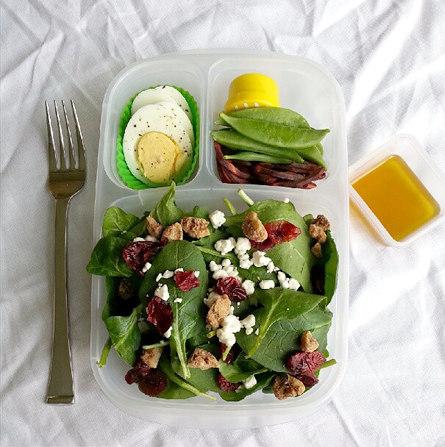 simple whole food salad
