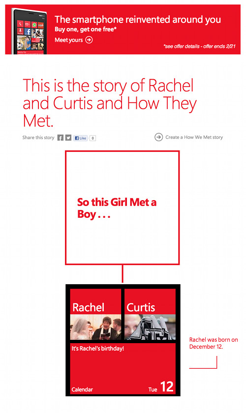 the how we met app
