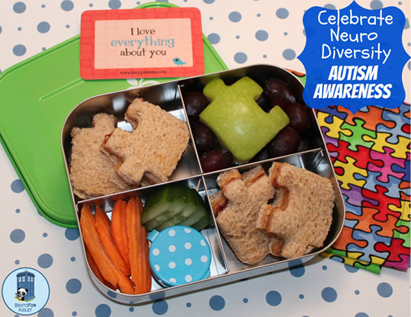 A Puzzle Lunch for Autism