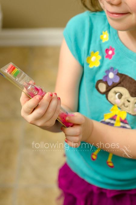 FireFly Ready Go Brush in Barbie Theme