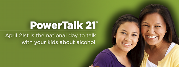 PowerTalk21: Talk To Your Kids About Alcohol