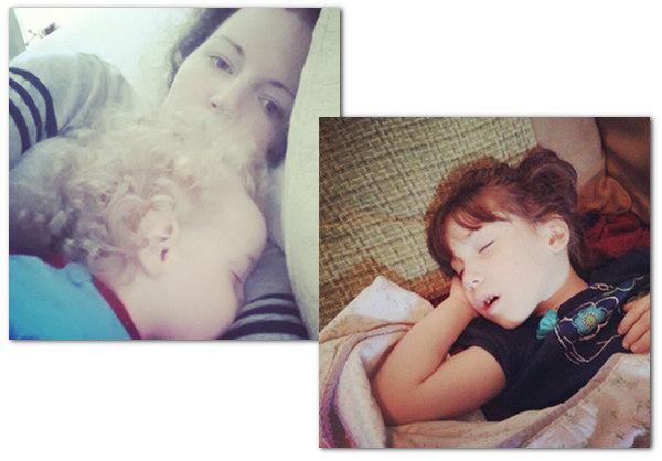 sick babies