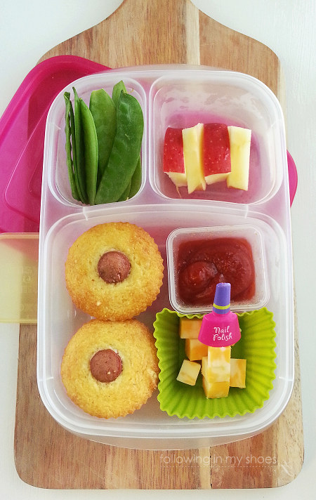 Corn Dog Muffins for a Make-Ahead Bento