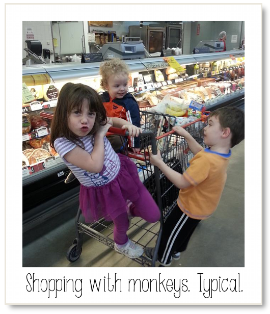 SHOPPING WITH PRESCHOOLERS