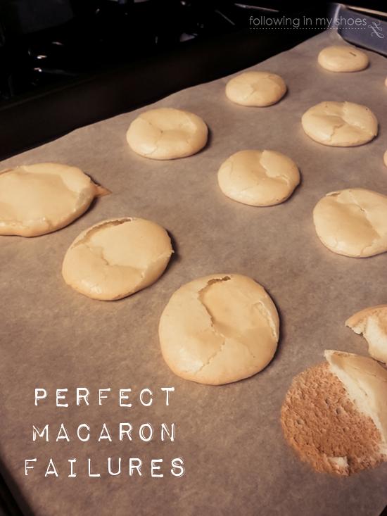 Perfect Macaron Failures