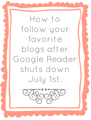 how to follow blogs now that Google Reader is dead