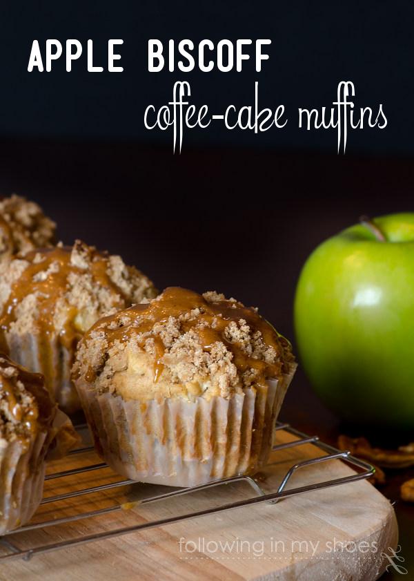 Apple Biscoff Coffe-Cake Muffins