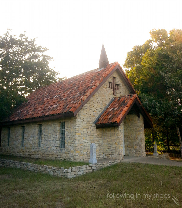 A beautiful, quiet Baptist Church we discovered on a Texas back-road.