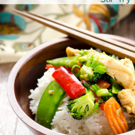 20 Minute Chicken and Veggie Stir Fry