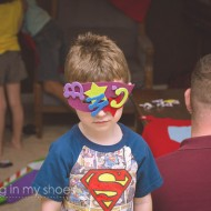 Bam! Pow! Splat! A Superhero Birthday Party.