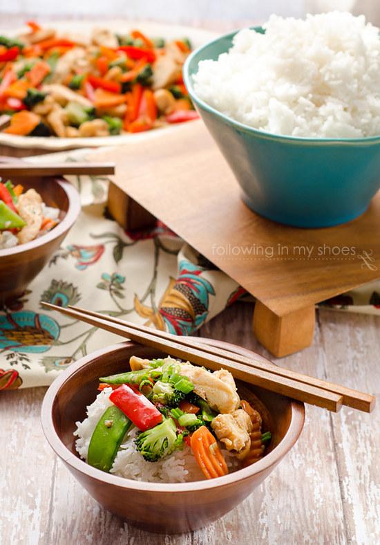 Easy Chicken Stir Fry Recipe #HEBMeals