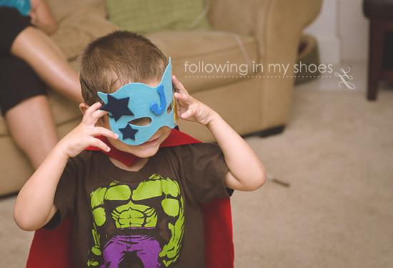 Easy Superhero Party Activity Idea