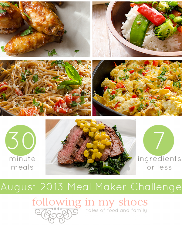 Meal Maker Challenge Recipes