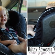 The Britax Advocate 70-G3: The Carseat That Impresses {giveaway}