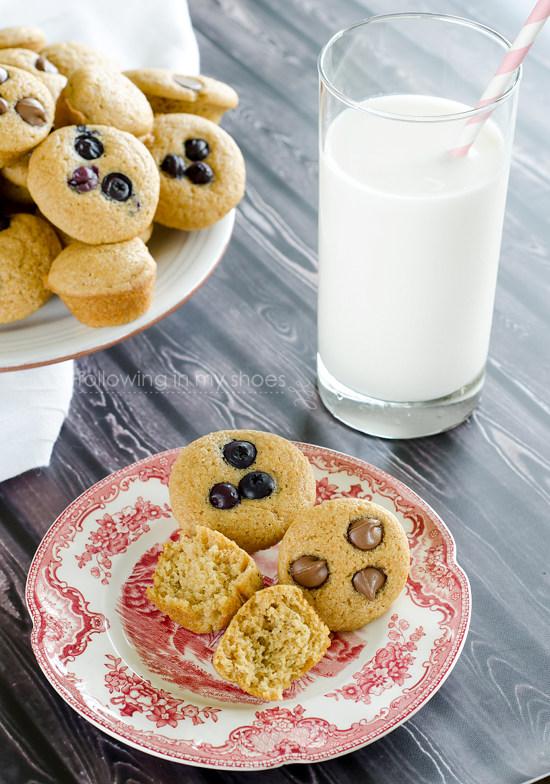 Muffins + Pancakes = Puffins!!!!  #freezerfriendly #breakfast #kidfriendly #wholegrain