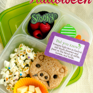 Simple Ways To Make a Halloween Lunch {iheartLunch}