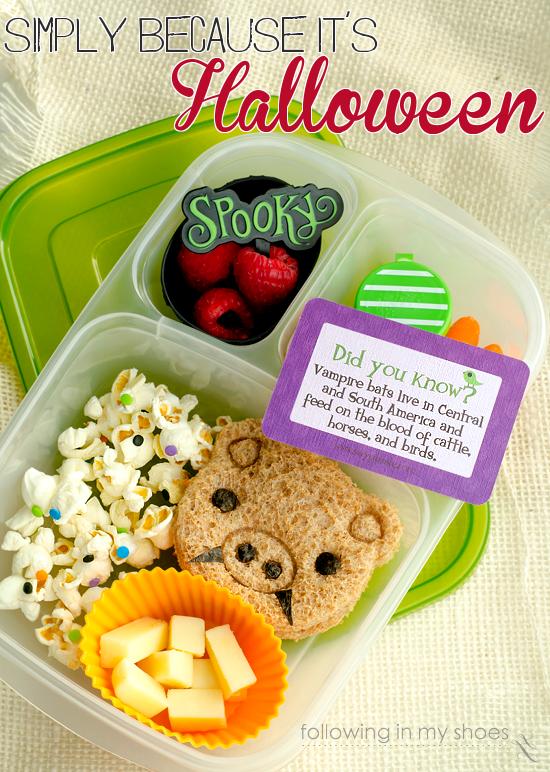Simple Halloween Kid Food