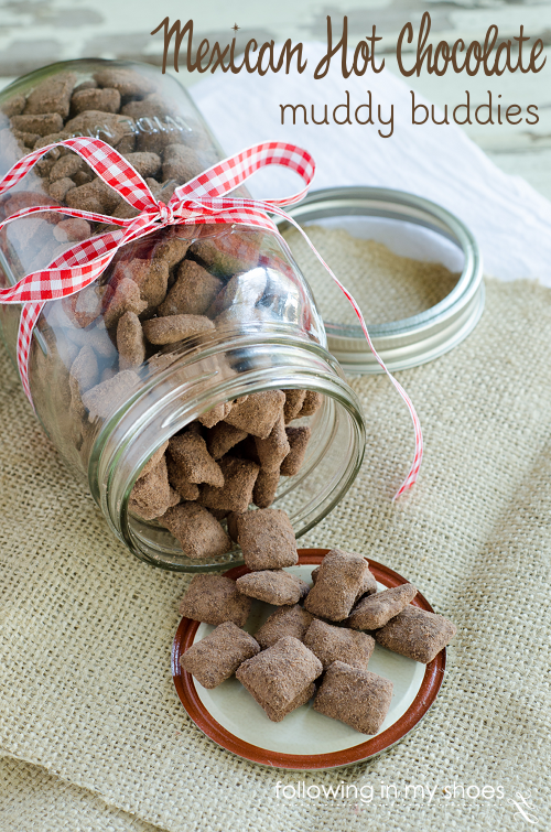 Easy Spicy Hot Chocolate Chex Mix - ready in 15 minutes